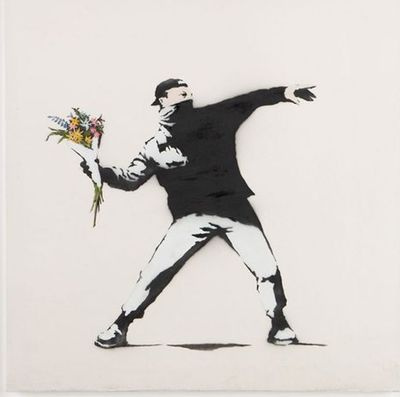 Banksy loses trademark battle over his famous Flower Thrower image