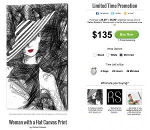 Woman With A Hat - Limited Time Promotion
